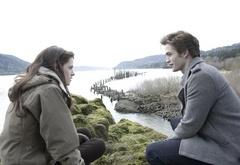 Эдвард и Белла: прогулка у скал.