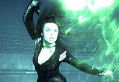 Беллатриса Лестрейндж и зеленый луч смерти