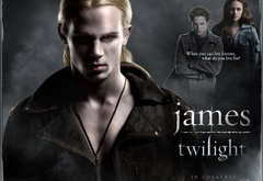 Джеймс - вампир-ищейка.