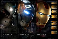 Три костюма Железного человека