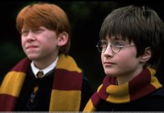 Одиннадцатилетний Гарри Поттер крупным планом