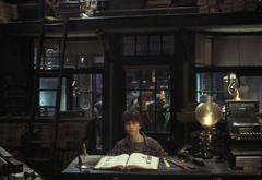 Гарри Поттер в магазине волшебных палочек