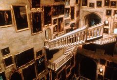 Самодвижущиеся лестницы в Хогвартсе