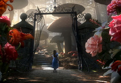 Сад с говорящими розами