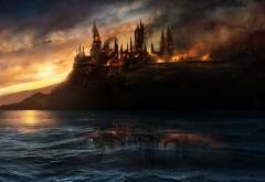 Хогвартс в огне