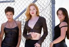 Три ведьмы у железной сетки