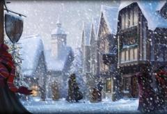 Хогсмид в Рождество