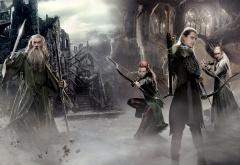 Эльфы и Гэндальф