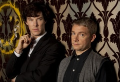 Шерлок, Джон и смайлик