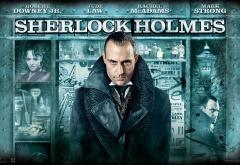 Марк Стронг на афише фильма Шерлок Холмс