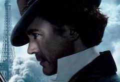 Шерлок Холмс на фоне Парижа