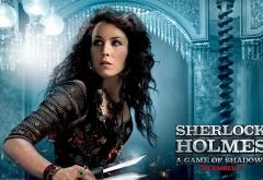 Нуми Рапас на афише фильма Шерлок Холмс: Игра теней