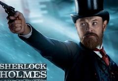 Джаред Харрис на афише фильма Шерлок Холмс: Игра теней