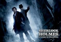 Шерлок и Ватсон в тёмных тонах