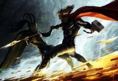 Битва Тора и Локи