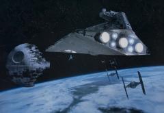 Имперский флот у Эндора