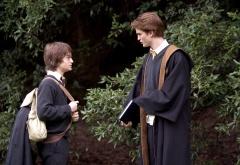 Гарри и Седрик в лесу
