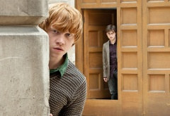 Рон и Гарри на улице