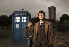 Доктор и Роза в городе