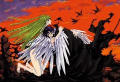 Сиси с крыльями и Лелуш