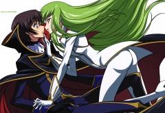 Сиси пытается поцеловать Лелуша