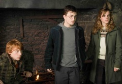 Трио у огня
