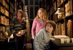 Трио в библиотеке
