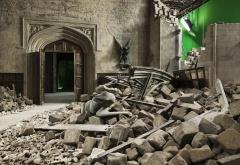 Кадры со съемок - разрушенный Большой Зал
