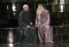Волдеморт и Дамблдор в министерстве