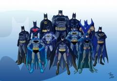 Разные Бэтмены