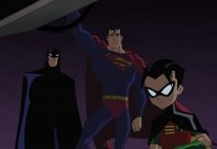 Бэтмен, Робин и Супермен