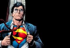 Супермен переодевается