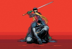 Бэтмен и Демиан Уэйн