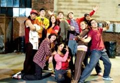 Команда танцоров