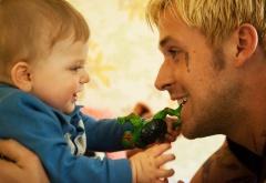 Люк с сыном